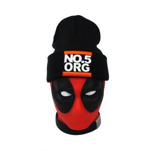 No5 Orange 1003 Black Beanie UNDMC DP