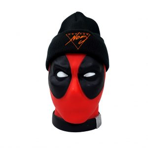 No5 Orange 1005 Black Beanie Triangle DP
