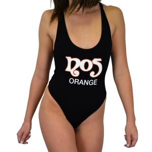 No5 Orange 3002 Black Bodysuit Classic 2